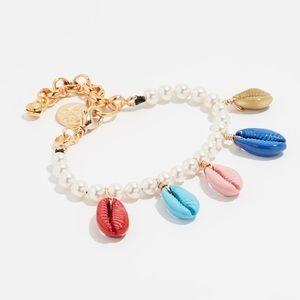 Venessa Arizaga Rainbow Shell Pearl Bracelet 🐚